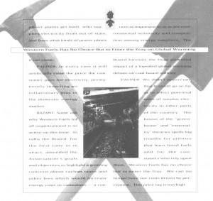 WFA '91 report 5